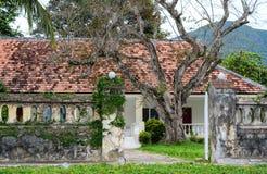 Altes Haus im Betrüger Dao Island lizenzfreies stockbild