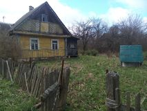 Altes Haus im village Stockfotografie