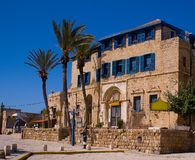 Altes Haus in Jaffa Stockbilder