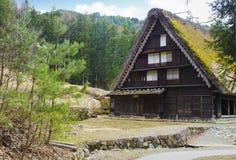 Altes Haus in Japan stockbilder