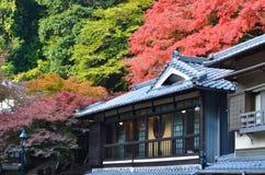 Altes Haus in Japan stockfotografie