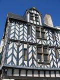 Altes Haus, La Rochelle Lizenzfreie Stockfotografie