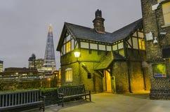 Altes Haus in London Lizenzfreie Stockbilder
