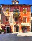 Altes Haus in Lovran stockfotografie