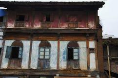 Altes Haus, nahe Sundar Narayan Mandir, Nashik, Maharashtra, Indien stockfoto