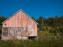 Altes Haus in Norwegen Stockfotografie