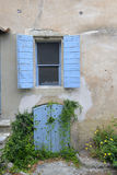 Altes Haus in Provence stockbild