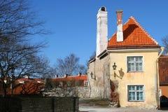 Altes Haus in Tallinn, Estland Stockfoto
