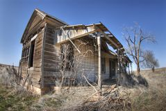 Altes Haus in Texas stockfoto
