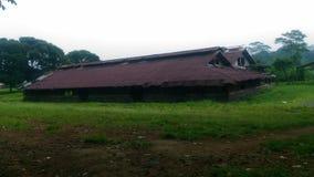 Altes Haus vilage Lizenzfreies Stockfoto