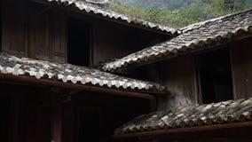 Altes Haus vom ethnischen in Hà Giang, Vietnam stockfotografie