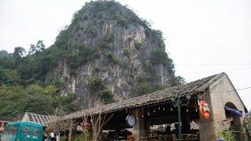 Altes Haus vom ethnischen in Hà Giang, Vietnam stockfotos