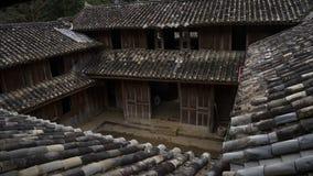 Altes Haus vom ethnischen in Hà Giang, Vietnam lizenzfreie stockfotos