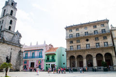 Altes Havana, Kuba Stockbild