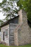 Altes historisches Blockhaus Lizenzfreie Stockbilder