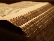 Altes historisches Buch Stockfoto