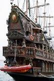 Altes historisches Galeon. Lizenzfreies Stockbild