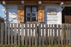 Altes historisches Haus Lizenzfreie Stockfotografie