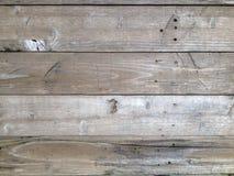 Altes Holz deckt Hintergrund mit Ziegeln Stockbilder