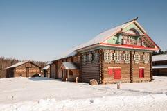 Altes Holzhaus Lizenzfreies Stockfoto