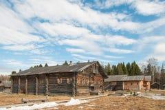 Altes Holzhaus Stockfoto