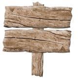 Altes Holzschild Stockbilder