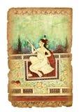Altes indisches Bild Stockfotos