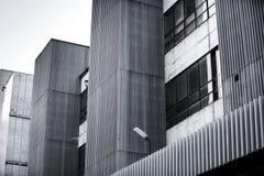 Altes Industriegebäudeäußeres lizenzfreies stockfoto