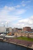 Altes Industriegebäude Lizenzfreie Stockbilder