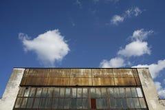 Altes industrielles Lager Lizenzfreies Stockbild