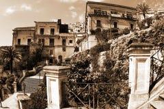 Altes Italien, Modica Stadt, Sizilien Stockbilder