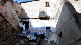 Altes italienisches Dorf stock video