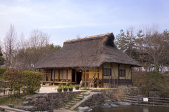 Altes japanisches Haus Lizenzfreie Stockbilder