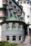 Altes jugend Schloss benannte Valtionhotelli Stockfotografie