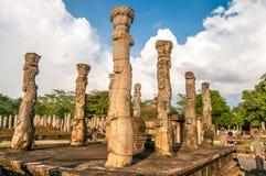 Altes Königreich Polonnaruwa Stockfotografie