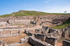 Altes Kamiros in der Rhodos-Insel Stockbilder