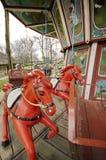 Altes Karussell für Kinder lizenzfreies stockbild