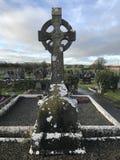 Altes keltisches Kreuz Lizenzfreies Stockfoto