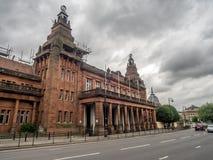 Altes Kelvin Hall-Gebäude in Glasgow stockfotos