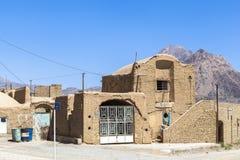 Altes Kharanagh-Dorf in Yazd, der Iran Stockbild