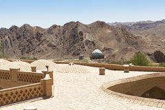Altes Kharanagh-Dorf in Yazd, der Iran Stockfotos