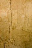 Altes Khmerschnitzen des Gottes Hanuman Stockfoto