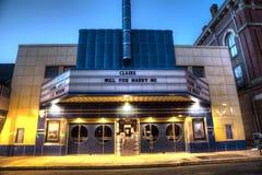 Altes Kino Lizenzfreies Stockbild