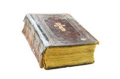 Altes Kirchenbuch auf einem transparenten Hintergrund lizenzfreies stockbild