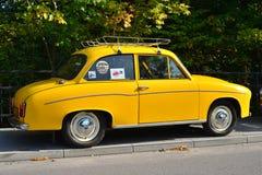 Altes Klassiker Polnischauto Lizenzfreie Stockfotografie