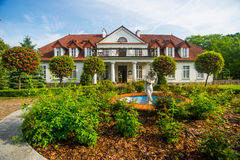 Altes klassisches Herrenhaus Stockfoto