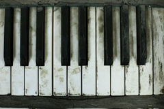 Altes Klavier lizenzfreie stockfotografie