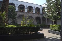 Altes Kloster Stockfoto