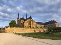 Altes Kloster St Michael in Bamberg Lizenzfreies Stockbild