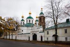 Altes Kloster in Uglich Russland Stockfotografie